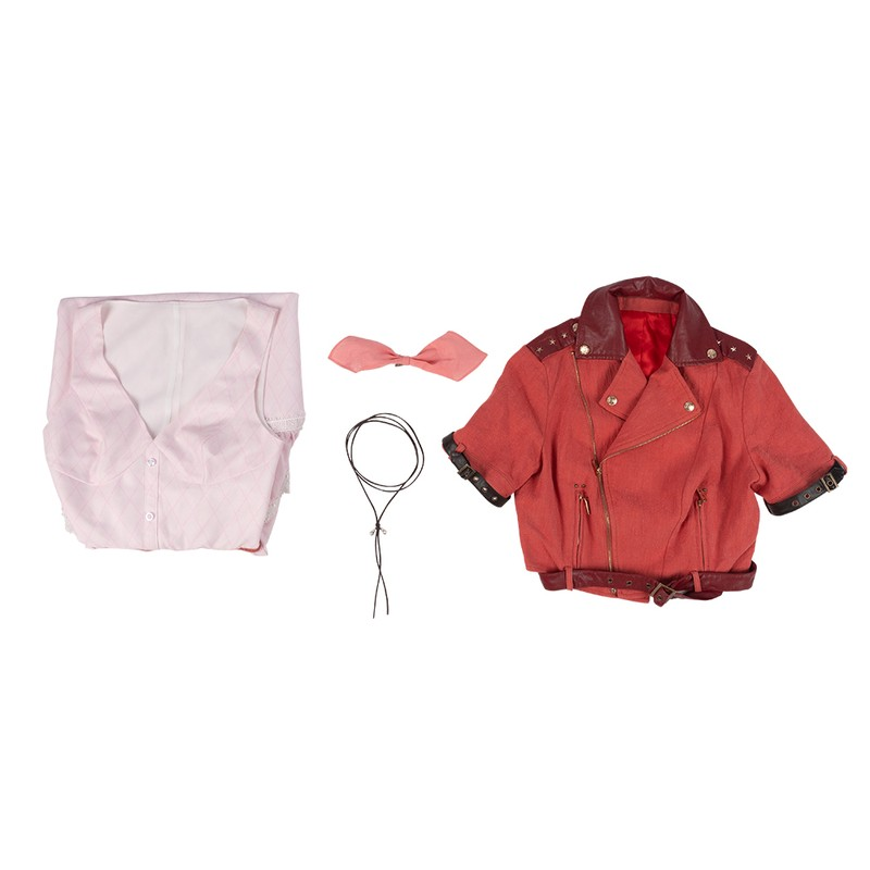 Final Fantasy VII Remake Aerith Gainsborough Cosplay Costumes