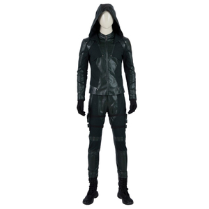 Oliver Queen Green Arrow Season 8 Cosplay Costumes