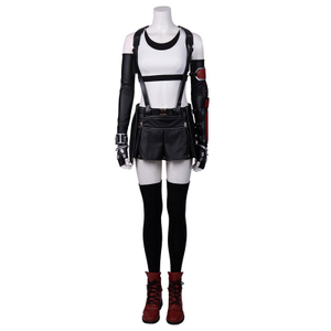 Tifa Final Fantasy VII Remake Halloween Cosplay Costumes