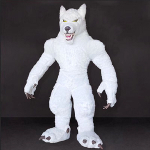 Furry Realistic Animal Fox Wolf Mascot Costume