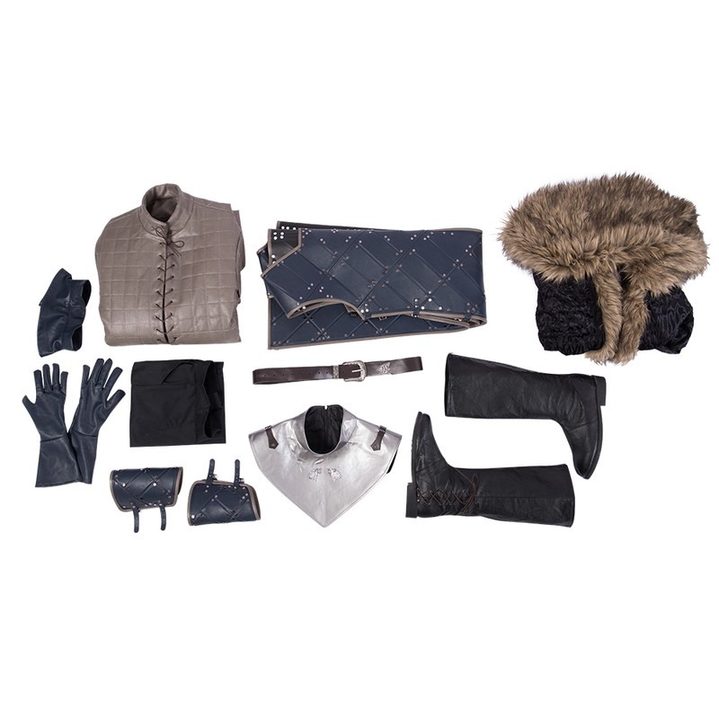 John Snow Game of Thrones Cosplay Costumes