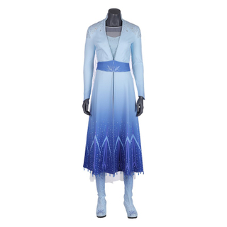Elsa Frozen 2 Disney Princess Customized Cosplay Costumes