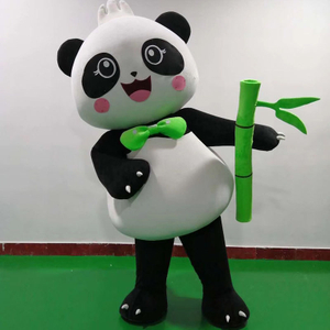 Adult Size Cartoon Panda Mascot Costumes